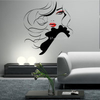 Sexy-Girl-Beauty-Long-Hair-Face-Makeup-Salon-Wall-Stickers-Home-Decor-Living-Room-Removable-Vinyl