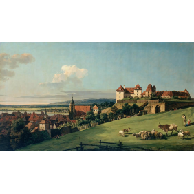 Bellotto, Bernardo - View of Pirna from the Sonnenstein Castle_(3890х2200)