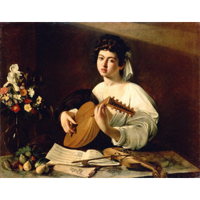 Caravaggio, Michelangelo Merisi da - The Lute-Player (2550х2000)